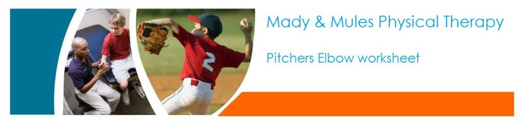 MMPT Pitchers Elbow